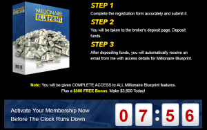 What is millionaire blueprint about another scam hi money bye scams millionaire blueprint malvernweather Choice Image
