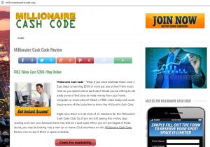What is millionaire blueprint about another scam hi money bye scams millionairecashcode millionairecashcode malvernweather Choice Image