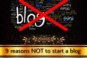 why to start blog