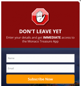 monaco treasure scam