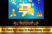 are there legit ways to make money online