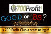is 700 profit club a scam