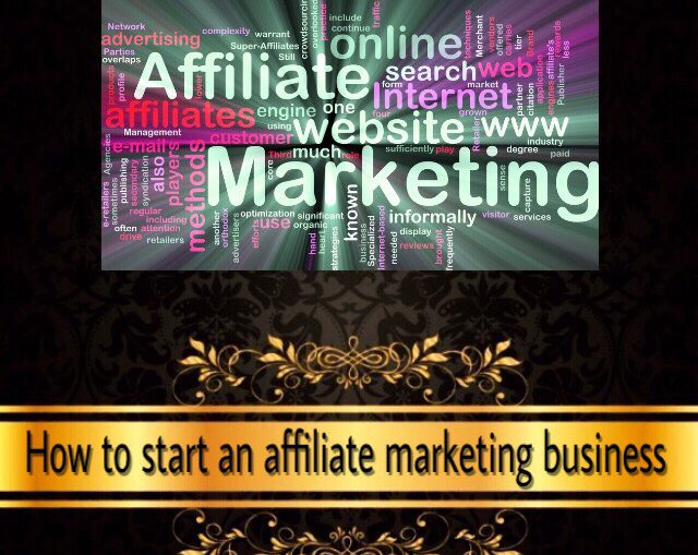 how to start an affiliate marketing business for free