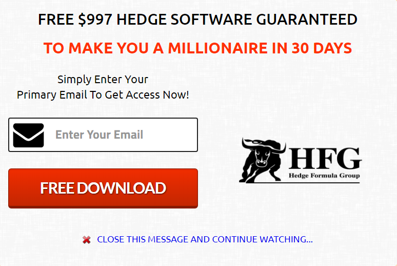 is hedge formula a scam