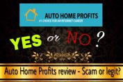 is auto home profits a scam