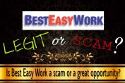 is best easy work a scam