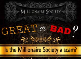 is the millionaire society a scam