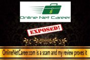 is online net career a scam