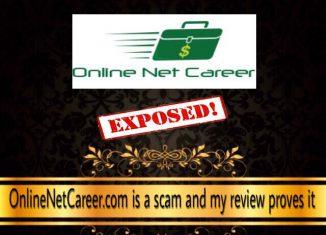 is online net career a scam