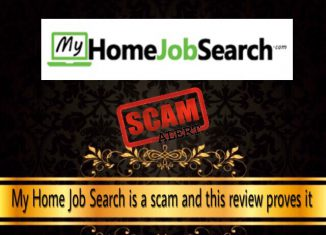 is my home job search a scam