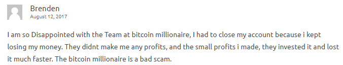 is bitcoin millionaire a scam