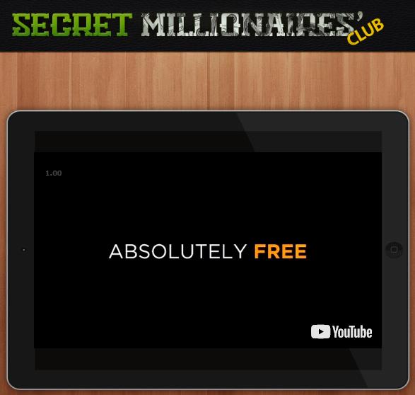 is secret millionaires club a scam