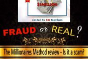 is the millionaires method a scam