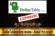 dollartable.online scam