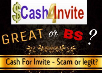 is cash for invite a scam