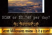 is secret millionaires a scam