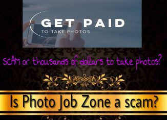 is photo job zone a scam