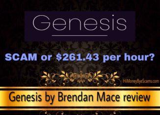 is genesis by brendan mace a scam