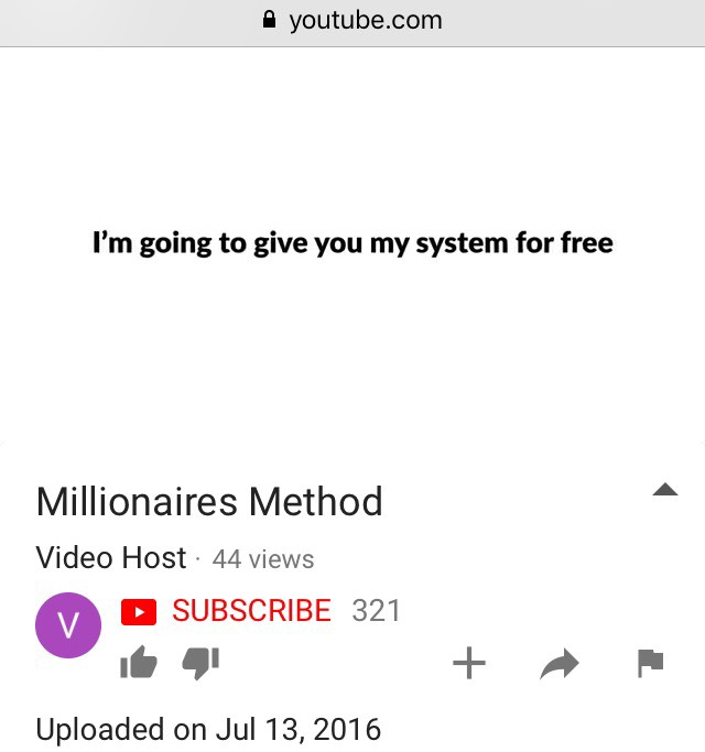 is the millionaire method a scam