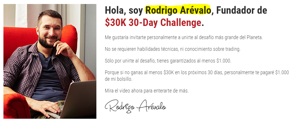 is 30k 30 day challenge a scam
