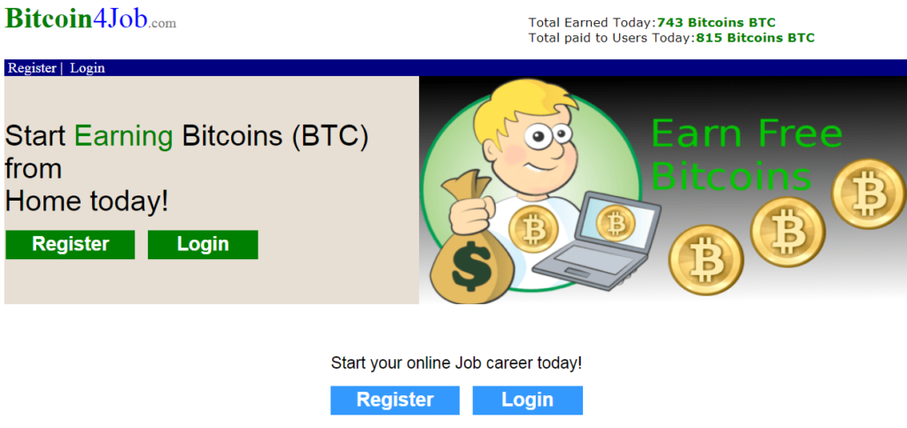is bitcoin 4 job a scam