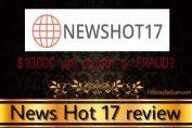 is newshot17.com a scam
