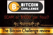 is the bitcoin challenge a scam