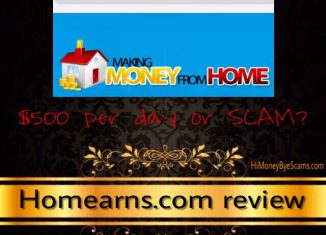 is homearns.com a scam