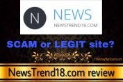is newstrend18 a scam