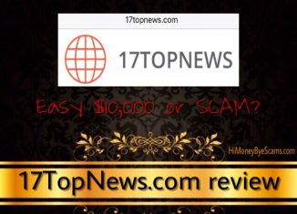 is 17topnews a scam