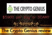 is the crypto genius a scam