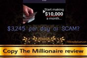 is copy the millionaire a scam