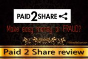 is paid 2 share a scam