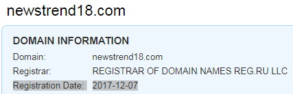 is newstrend18.com a scam
