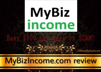 is mybizincome a scam