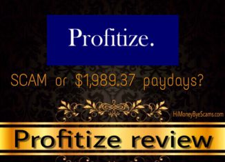 is profitize a scam