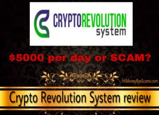is crypto revolution system a scam