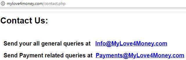 is mylove4money a scam
