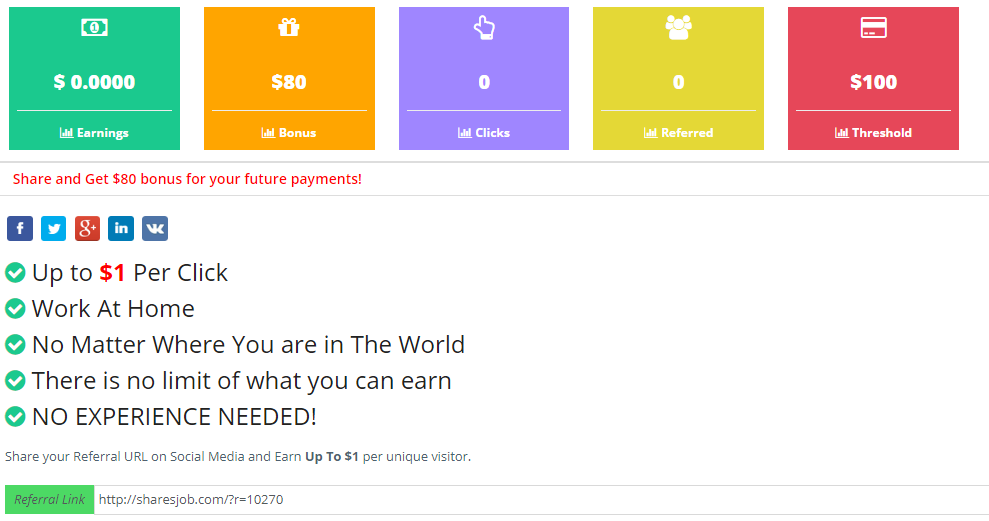 is sharesjob a scam