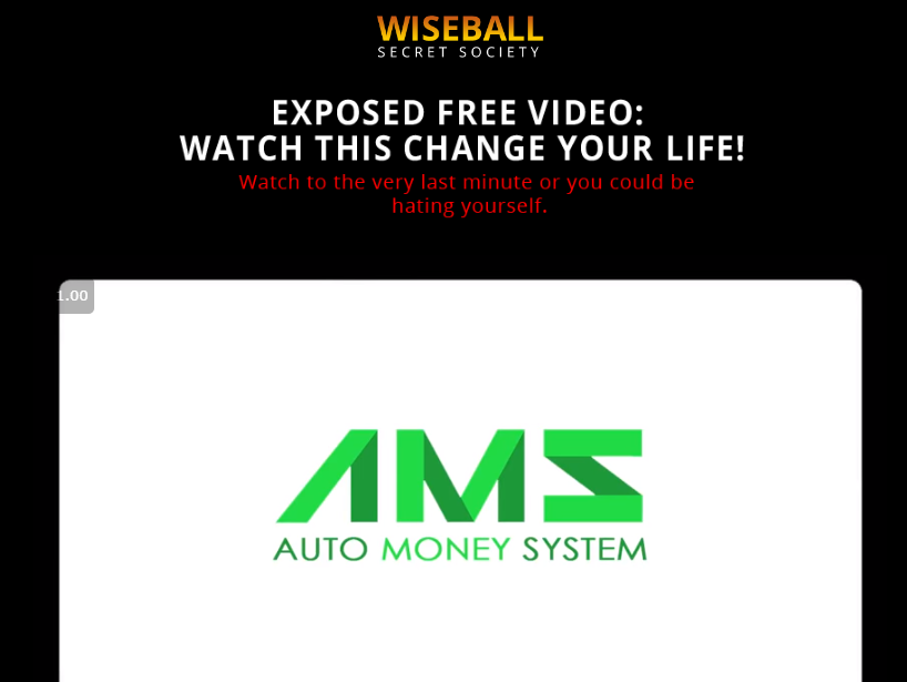 is wiseball secret society a scam