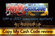 is copy my cash code a scam