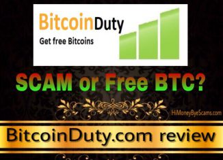 is bitcoinduty.com a scam