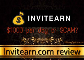 is invitearn.com a scam
