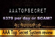 is aaa top secret system a scam