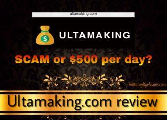 is ultamaking.com a scam