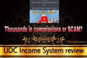 is udc income system a scam