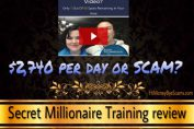 is secretmillionairetraining.com a scam
