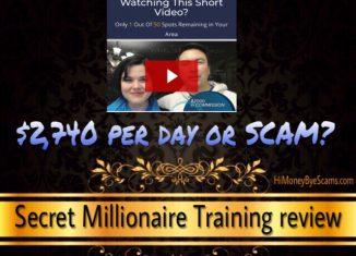 is secretmillionairetraining.com a scam