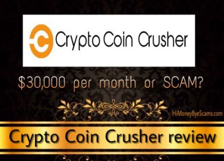 is crypto coin crusher a scam