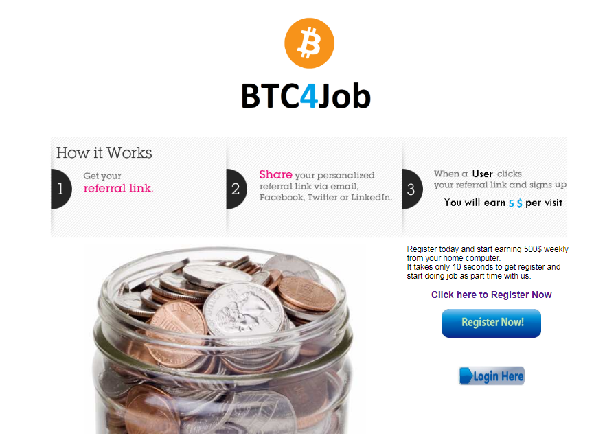 is btc4job a scam